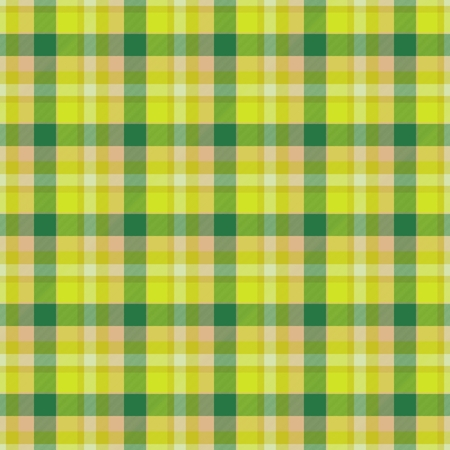 Yellow and green table-cloth seamless texture Reklamní fotografie