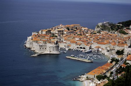 View of Dubrovnik photo