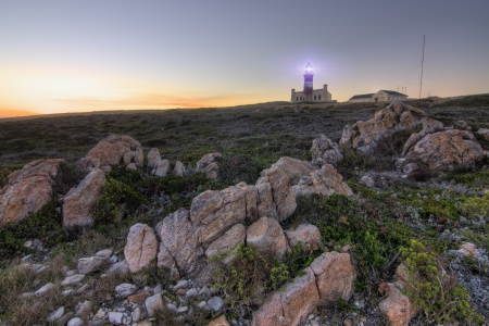 lighthouse at Cape Agulhas Africa