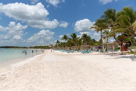 Akumal beach paradise in caribbean coast of mexico quintana roo
