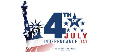 4th of July, USA celebration of Independence day Stock Photo