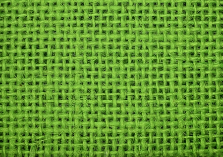 macro: light green fabric macro