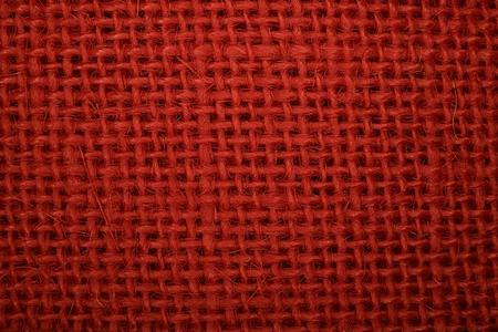 macro: red macro fabric Stock Photo