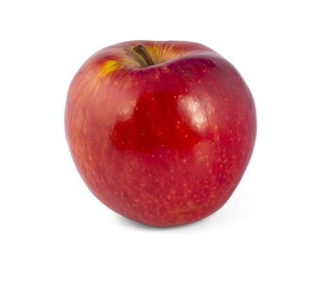 赤いリンゴ。白い背景で隔離