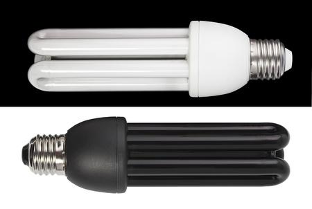 省エネルギー ランプです。UV と白色光