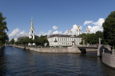 サンクトペテルブルク、ロシアのニコラス海軍大聖堂大聖堂