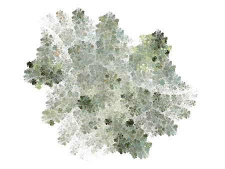 Abstract fractal design, computer generated Stock Photo