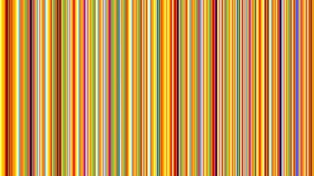 banding: Vector art illustration of vertical colored stripes Illustration
