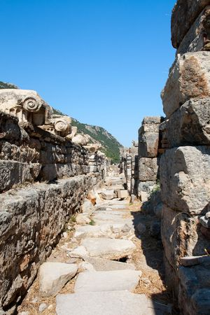 The way to the Ephesus Senate