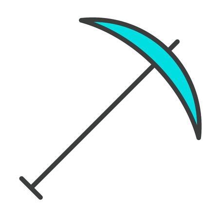 Pick Line Icon. 96x96 for Web Graphics and Apps. Simple Minimal Pictogram. Vector Illustration