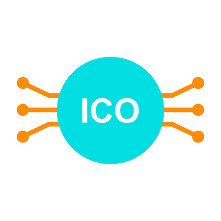 ICO Line Icon.  96x96 for Web Graphics and Apps.  Simple Minimal Pictogram. Vector
