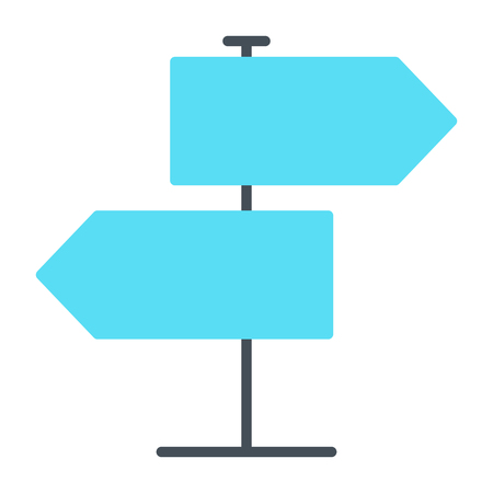 Signpost  Icon.  96x96 for Web Graphics and Apps.  Simple Minimal Pictogram. Vector