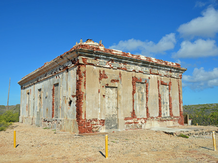 Photo of the Puerto Ferro Berdiales Lighthouse Ruins Archeological Site in Vieques Puerto Rico