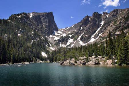 colorado rocky mountains: Colorado Rocky Mountains Stock Photo