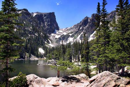 uplifting: Colorado Rocky Mountains Stock Photo