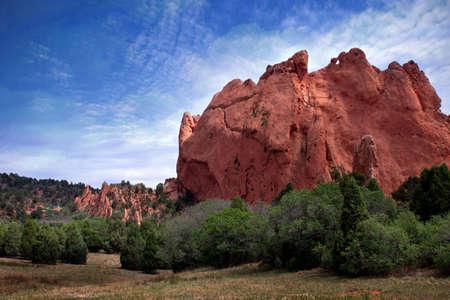 uplifting: Colorado Garden of Gods landscape