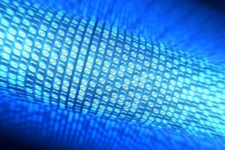 binary stream  photo