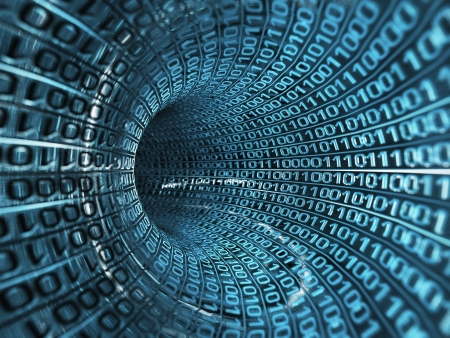 binary code: binary stream