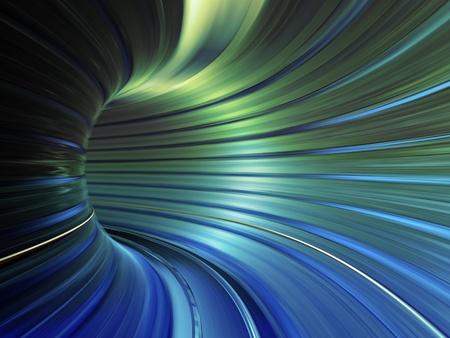 light zoom: speed tunnel