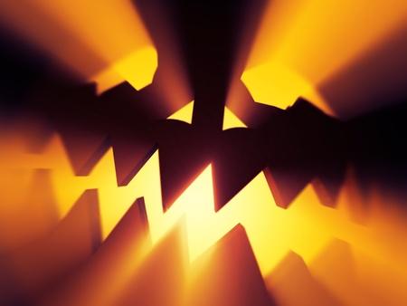 incarnate: devil of Halloween  Stock Photo
