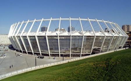 olympic stadium: new olympic stadium in Kiev