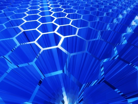 cell abstract background Stock Photo - 11545418