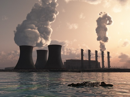 water pollution: power plant