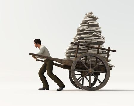 cartage: heavy work