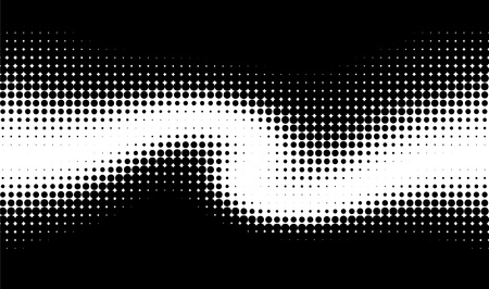 rasterized: vector wave pattern  Illustration