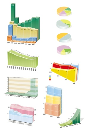schedule reports: 3D vector graph sample