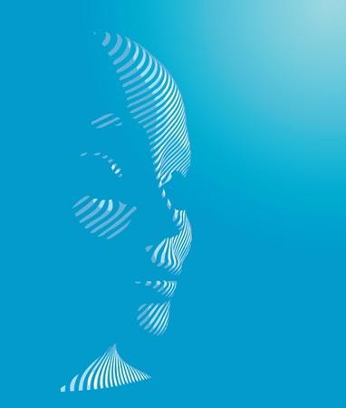 cybernetic man  Ilustração