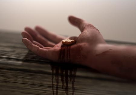 Jezus: Chrystus ukrzyżowany Zdjęcie Seryjne
