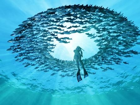 ojo del océano