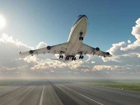 Flugzeug Abnehmen