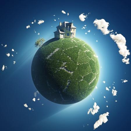 Private Haus am grünen Planeten