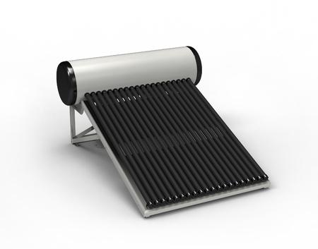 cobradores: Calentador solar