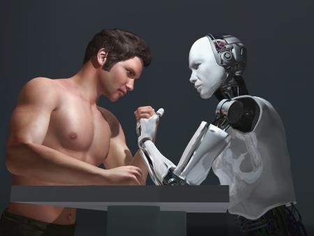 Mensch-Roboter-Wettbewerb