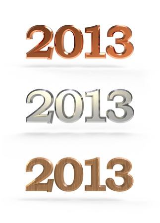 new year 2013 numbers photo
