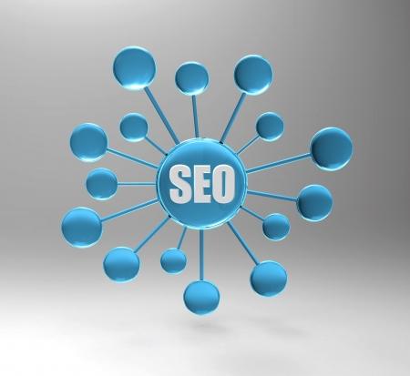 Suchmaschinen-Optimierung Standard-Bild