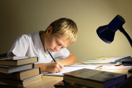 study: child learns at night