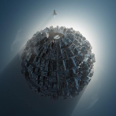 künstlicher Planet