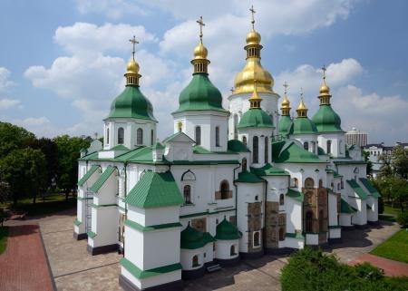 Saint Sophia Cathedral in Kiev, Ukraine Stock Photo