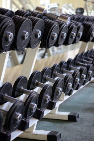 weight weightlifting: dumbbells