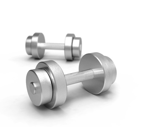 dumbbells Stock Photo - 20282858