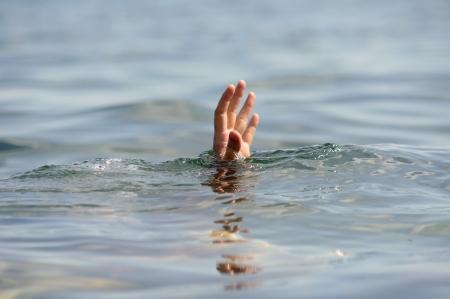 hand drowning  Stockfoto