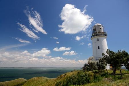 strait: lighthouse in Kerch Strait