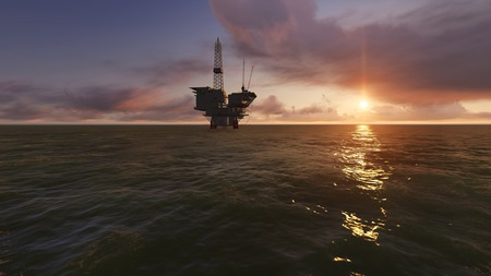 Offshore Oil Drilling photo