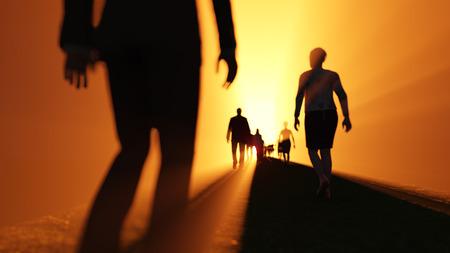 heaven?: la gente va a la luz