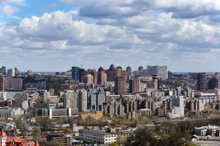 Kiew Stadtbild im Frühjahr