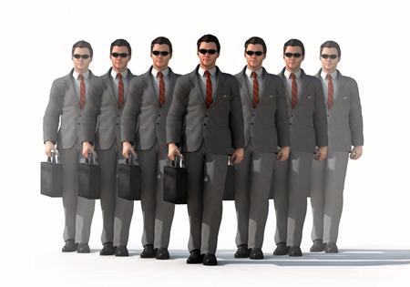 dedicated business team